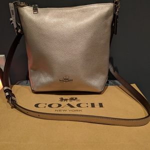 Coach Handbag leather cross body brand New